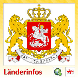 Länderinformation Georgien (Wappen)